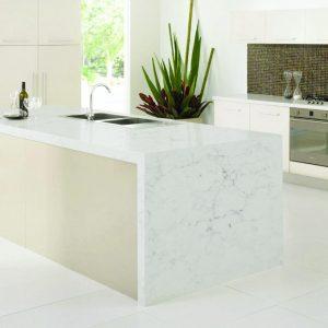 cuisine plan de travail marbre Logs décor