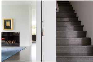escalier marbre et granit Logis décor