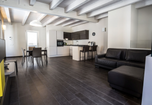 logis décor carrelage sol séjour intérieur